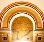 Indochine. Carte des lignes télégraphiques