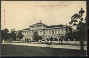 poste centrale de saigon eiffel architecture colonial