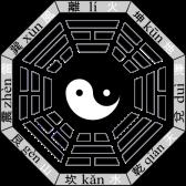 Bat Quai, forme octogonale du Yi-King, représentant le cosmos