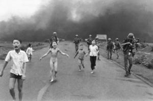 The napalm girl 40 years ago (Phan thi kim phuc)