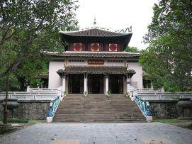 Temple des rois Hung juxtaposant le musée national d'histoire, District 1, Hochiminh city