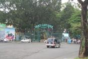Entrée commune au temple Hung, Bao Tang Lich S musee d'histoire TpHCMCM et du parc botanique zoologique