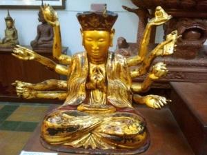 Les capacités infinies de la compassion. Le Boddhissatva Quan Yin (vn. Quan Thế Âm bồ tát) Boddhissatva de Chine