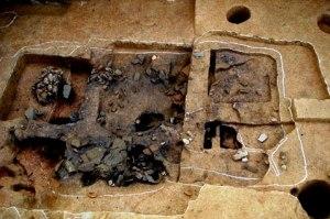 Four métallurgique du bronze datant de près de 3 millénaires