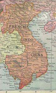 French Indochina Land. L'Indochine française