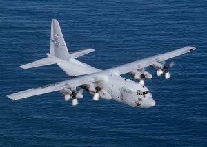 Hercules C-130. Un équivalent aujourd'hui est l'Airbus A-400M