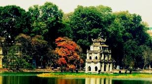 Le roi Ly Thai To, en 1010, fit déplacer la capitale de Hoa Lu à Hanoi, anciennement Thang Long, l'ascension du dragon