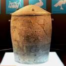Jarre en terre cuite de Dongson, allant du 1er millénaire av. J-C au 8è siècle ap. J-C.