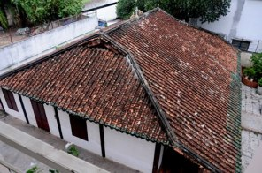 Une chapelle dans un pur style d'architecture d'Asie