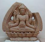 sculpture Cham Vishnu Musee Danang